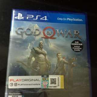 god of war bluray cd game ps4 like new