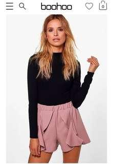 Boohoo Mauve Shorts