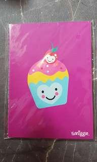 Smiggle A6 notebook Ice cream design