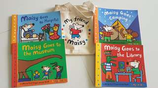 My Friend Maisy 4books in small carrier