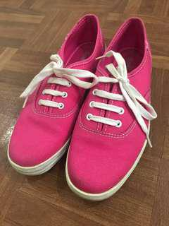 RUSH* Pink Keds Shoes