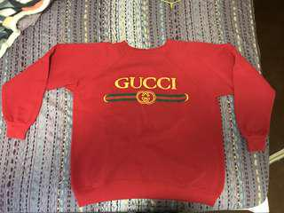 Gucci Vintage Sweater Replica (Red)