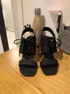 ASOS Black Healed sandles
