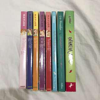 RUSH* All books for 350