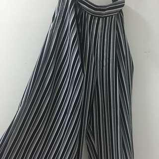 Stripes Long Cullotes