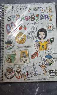 Spiral Artbox notebook