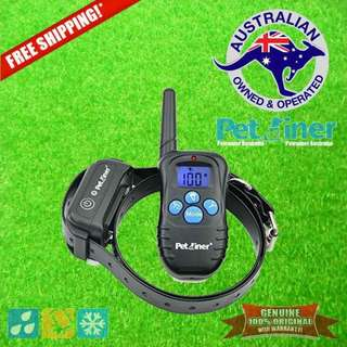 Petrainer PET998DBB-1 Remote Dog Training Collar Shock & Vibration for 1 Dog