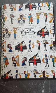 The Paper Stone notebook