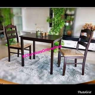 Malaysian wood Dining set