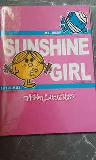 Little Miss Sunshine notebook