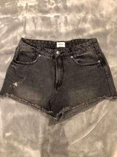 RVCA Grey Demin Shorts