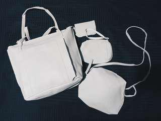 4 in 1 Korean Bag | Grey