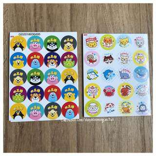 (New!) Cute Chinese student Motivation Reward Stickers for Teachers