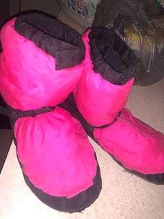 bloch warm up booties