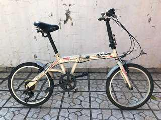 "Aleoca 20"" foldable bicycle"