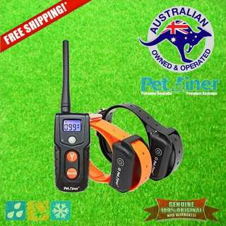 Petrainer PET916R-2 Remote Dog Training Collar Shock & Vibration for 2 Dogs