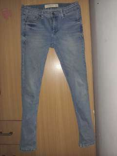 Celana jeans connexion skinny jeans size 31