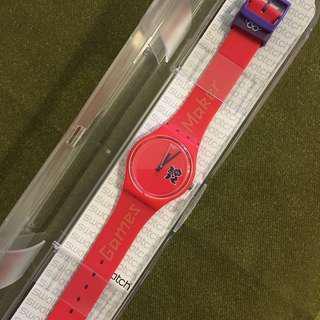 🚚 [全新]swatch 倫敦奧運紀念錶
