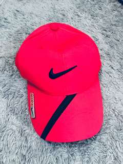 Nike red hat