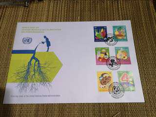 #under90 Mint condition United Nations first day cover