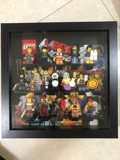 Lego Movie Set of 16 with Frame