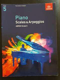 Grade 5 Scales & Arpeggios ABRSM