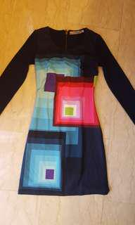 Desigual long sleeved dress