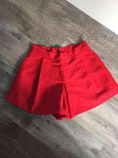 BN Osmose Red Shorts