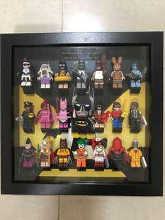 Lego Batman Movie Series 1 Set of 20 with Frame