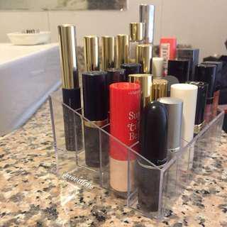 Lipstick organizer / makeup organizer