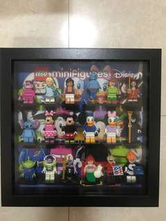 Lego Disney Series Set of 18 with Frame