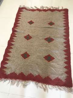 Hand crafted Persian carpet