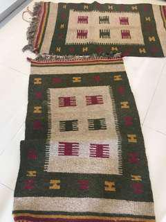 Hand crafted Persian carpet (2 unit)