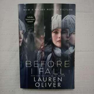 Lauren Oliver - Before I Fall (Movie Tie-In Edition)