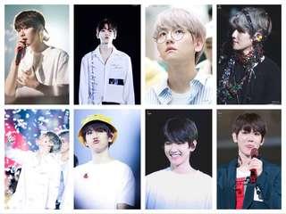 EXO Baekhyun Fan made Photocard