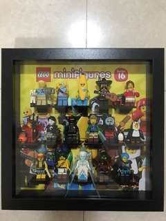Lego Series 16 Set of 16 with Frame
