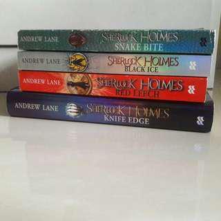 Sherlock Holes Series by Andrew Lane