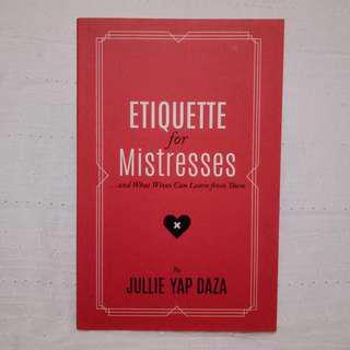 Julie Yap Daza - Etiquette for Mistresses