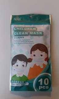 兒童口罩(10件裝)