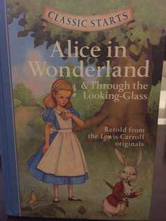 Alice in Wonderland & Through the Looking Glass (Hardbound)