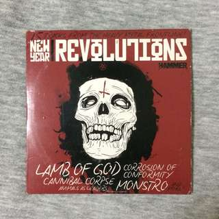 Promo CD Metal Hammer:  New Year Revolution
