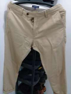 Imported Khaki pants skinny fit for men- Size 34