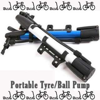 Band New in Stock Portable Foot/hand Pump for Bicycle Tyre and Balls
