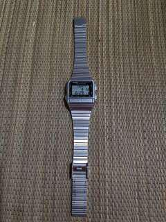 #under90 Casio Watch with silver strap including postage