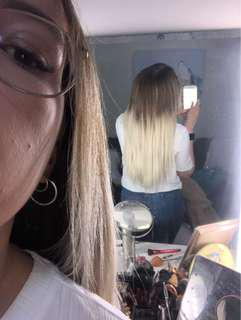 """20"""" 200g clip in extensions"""