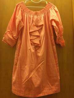 🚚 IROO 花苞式洋裝