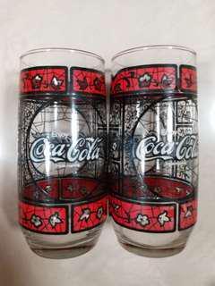 Coca cola 可口可樂杯 2 隻