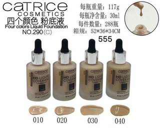Catrice liquid foundation