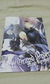 Fate/Grand Order Adult Illustration Book Directly Imported From Japan 100% Authentic