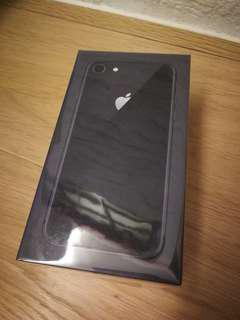 全新行貨未開 Brand New Apple i phone 8 64gb